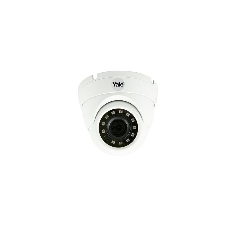 Kamera kopułkowa Yale 1080p Biała